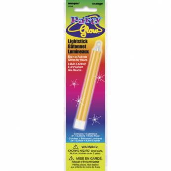 Glow in the Dark Stick Kleur: Oranje